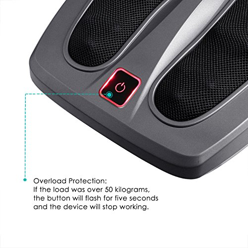 naipo appareil de massage pour pieds masseur pieds avec massage shiatsu ebay. Black Bedroom Furniture Sets. Home Design Ideas