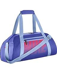 Nike BA5167-452 Sac de Sport Femme, Paramount Blue/Aluminum/Racer Pink, 30 L
