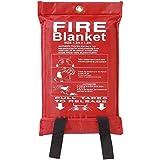 Axus Technologies Fiberglass Fire Blanket Soft Bag (1.2 x 1.2 m)