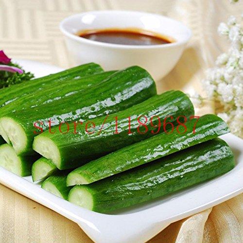 100 pcs Big Graines de concombre Rare No-gmo délicieux Fruits et légumes Graines de concombre pour Home Garden plantation