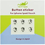 KolorFish Home Button Stickers! Fits Apple iPhone 4s, 5/5c/5s, 6/6 Plus, 7/7 Plus, SE, iPod Touch 4, 5, 6, iPad 3, 4, Mini 2, 3, 4, Air & Air 2 (Smileys)