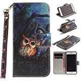 Jepson Apple iphone 6 / 6S (4,7 Zoll) Handytasche / Handyhülle. Flip Etui Wallet Case in Bookstyle...