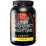 Deluxe Nutrition Mass Effect Weight Gainer Strawberry Whey Protein Casein Glutamine 1kg