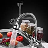 #6: AAI 360° Rotating Kitchen Sink Basin Tap With Multi Spray Patterns (Floor Mount)