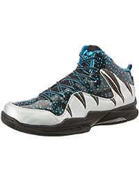 Nivia Heat Basketball Shoes, UK 11 (Black/Grey)