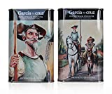 García de la Cruz - Aceite De Oliva Virgen Extra Ecológico Orgánico, Latas 250ml Quijote y Sancho Oleo Pack