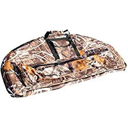 SGerste Ligero portátil al aire libre caza arco lienzo Compound Bow Bolsa Protección Funda Camuflaje 115 x 45 x 45 cm