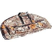SGerste Ligero portátil al aire libre caza arco lienzo Compound Bow Bolsa Protección Funda Camuflaje 95 x 41 x 4 cm