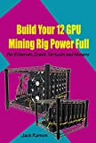 Build Your 12 GPU Mining Rig Power Full: For Etherum, Zcash, Vertcoin and Monero