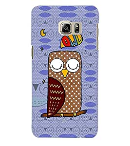 ColourCraft Owl Back Case Cover for SAMSUNG GALAXY NOTE 5 EDGE