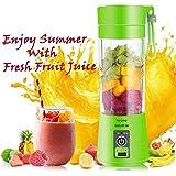 BOKA® Rechargeable Portable Electric Mini USB Juicer Bottle Blender for Making Juice, Shake, Smoothies, Travel Juicer for Fruits and Vegetables