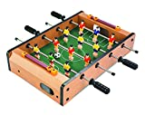 #4: Toyshine 4 Rods Small Football Table Soccer Game, 13.5-inches