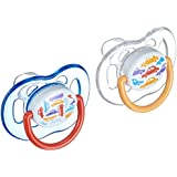 Philips AVENT Soother Fashion 6-18m - SCF172/22 - COLOURS/DESIGNS MAY VARY(PACK OF 1, 2 SOOTHERS)