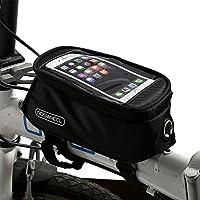 Yaheetech Bolsa de Bicicleta Funda M/óvil de Bicicleta Bolsa Bici Manillar de Tel/éfono Celular de Hasta 5,5 Pulgadas
