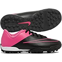 Nike JR MERCURIAL VORTEX II TF Scarpe Football Nero Rosa