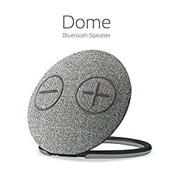 Portronics Dome Portable Bluetooth Speaker with Mic( Gray )