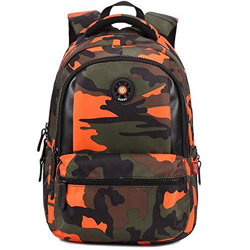8ec85b79bf00 Comfysail Camouflage Printed Primary School Nylon Backpack - Ideal for 1-6  Grade School Students