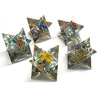 Schönes Set von fünf Chakra Orgonite Merkaba-Stern Crystal Healing Reiki Wellness metaphysisch psychische Energie... preisvergleich bei billige-tabletten.eu