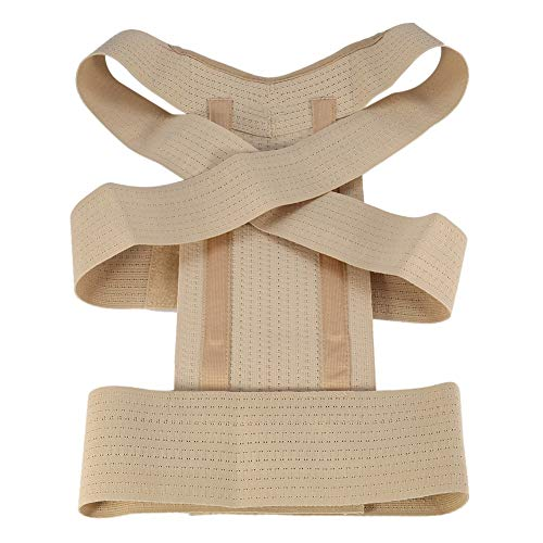 Ruiqas 4 Größen Männer Frauen Körperhaltung Korrektur Taille Schulter Brust Rückenstütze Corrector Gürtel (Size : S) -
