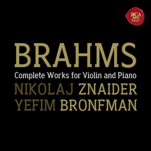 BRAHMS - Complete Works for Violin and Piano