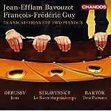 Debussy, Stravinsky & Bartók: Transcriptions for 2 Pianists