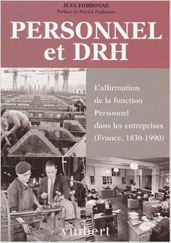 Personnel et DRH de Jean Fombonne ( 14 septembre 2001 )