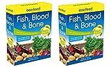 2 x pescado Eazifeed sangre y hueso ilovehandles planta vegetales fertilizantes orgánicos 750 G