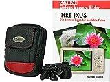 Foto Kamera Tasche RED ROCK PLUS Set mnit Fotobuch Ihre Ixus Canon für 220 285 275 265 255 160 165 170 175 180 285 170 155 510