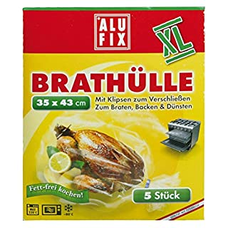Alufix Brathüllen XL, 35x43 cm - 5 St.