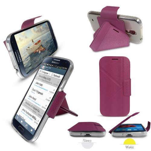 sonivo-origami-stand-case-cover-purple-for-samsung-galaxy-s4-i9500-i9505-with-built-in-magnetic-lid-
