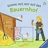 Komm mit mir auf den Bauernhof: Mein allererstes Schiebebuch