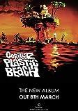 Generic Gorillaz Kunststoff Beach Photo Kunstdruck Demon Days Poster Damon Albarn Blur Band 002(a5-a4-a3), A4