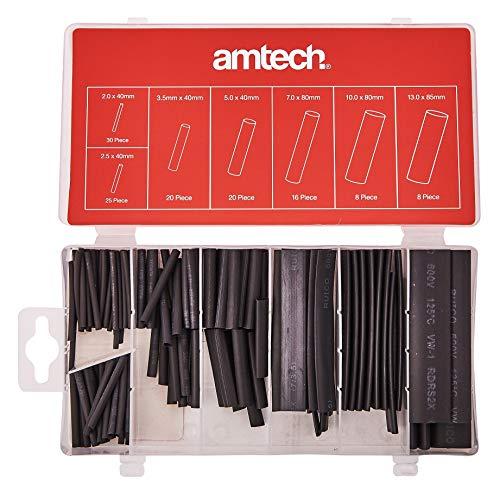 Am-Tech S6205 127pc ASSORTIMENTO di WRR Shrink, Rosso-Nero-Argento