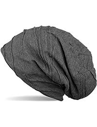 styleBREAKER Beanie Mütze mit Falten Muster, Slouch Longbeanie, Unisex 04024053