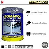 Cromapol | Acrylic Roof Coat | Roof Paint Sealant | Multipack | 4