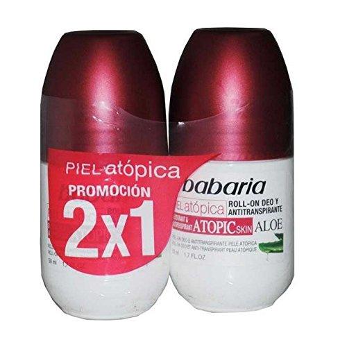 Babaria Desodorante Roll On Pieles Atopicas 50ml Set