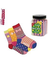 3 Verrückte Socken - Oddsocks Mix Ups3 für Mädchen
