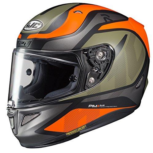 Hjc Helmets Rpha-11Pro Deroka-Casque de moto intégral-Sf-orange/doré/gris