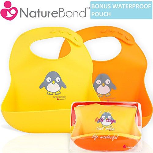 NatureBond - Babero de silicona
