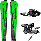 Elan SLX Fusion Skiset Slalom Race sci + binding El 11 Nero fumo Gr 165 cm, nuovo
