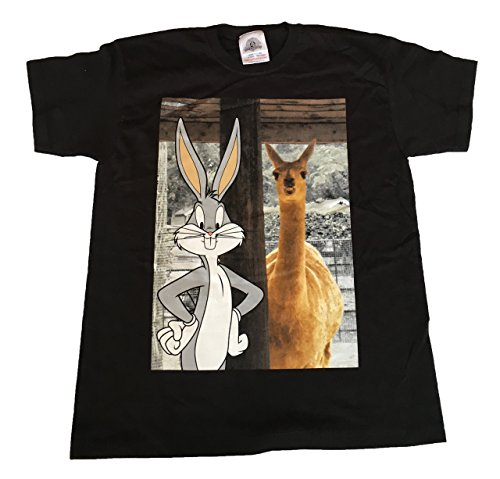 bugs-bunny-looney-toons-llama-official-kids-t-shirt