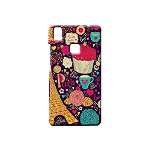 G-STAR Designer Printed Back case cover for VIVO V3 - G2605