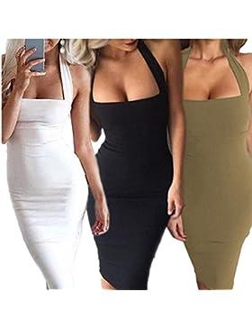 Mujeres vendaje bodycon mini vestido de coctel corto de fiesta de noche Clubwear
