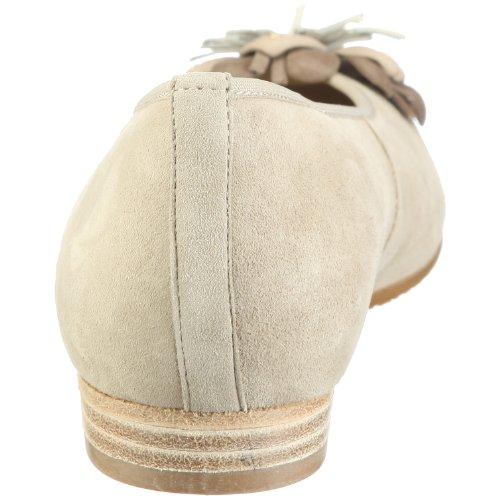 Hassia Fermo Weite G 1-301022-1299, Ballerines femme Beige (Beige - Beige/creme/multi)