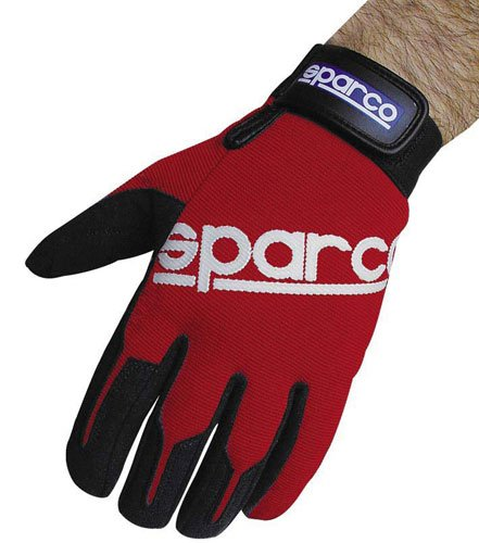 sparco-meca-flexible-adjustable-protective-driving-mechanic-gloves-medium-red