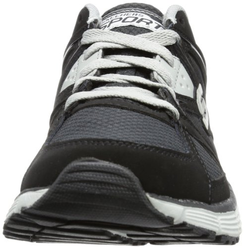 Skechers  Agility Outfield, basket homme Black/Gray