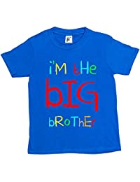 I'm The Big Brother Funny Cool Gift Kids Boy Girl Cotton Short Sleeve T-Shirt Various Colours Available - Sizes 1 Year Old - 14 Year Old