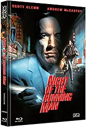 Night of the running Man - uncut (Blu-Ray+DVD) auf 333 limitiertes Mediabook Cover B [Limited Collector's Edition]