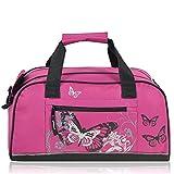 "Kinder Sporttasche ""Butterfly"" pink"