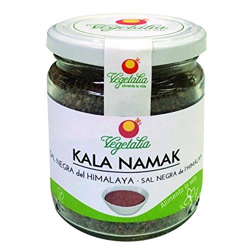 Sal del HImalaya Negra Kala Nmak Vegetalia 220 g.